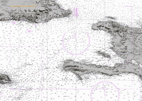 Windward Passage and Southern Approaches Marine Chart - Nautical Charts App