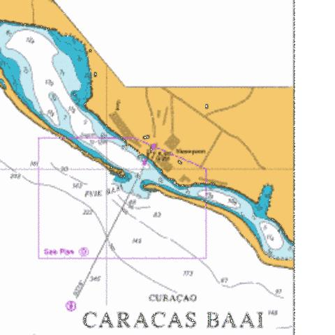 D  Entrance to Fuik Baai Marine Chart - Nautical Charts App