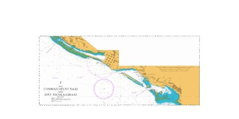 F  Commandeurs Baai and Sint Nicolaasbaai Marine Chart - Nautical Charts App