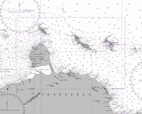 Punta San Juan to Punta Macolla including Bonaire- Curacao and Aruba Marine Chart - Nautical Charts App