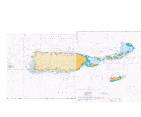 PUERTO RICO AND VIRGIN ISLANDS Marine Chart - Nautical Charts App