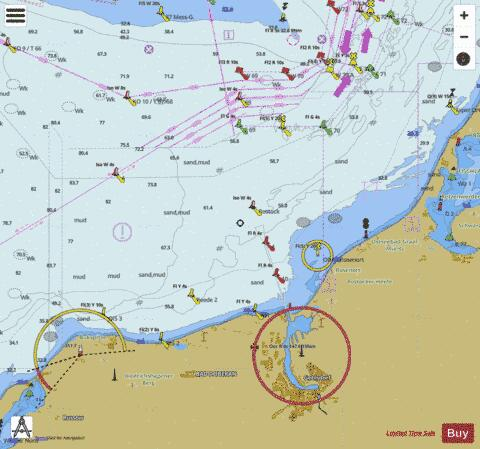 ROSTOCK APPROACH Marine Chart - Nautical Charts App