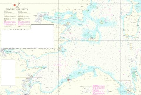 Farvandet nord for Fyn Marine Chart - Nautical Charts App