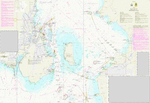 Sundet, Midterste del Marine Chart - Nautical Charts App