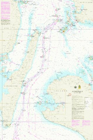 Storebælt, sydlige del Marine Chart - Nautical Charts App