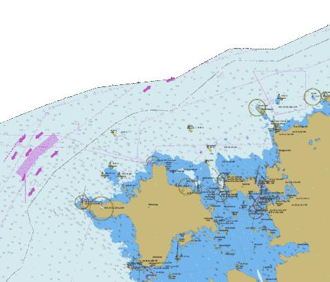 To North from Hiiumaa Marine Chart - Nautical Charts App