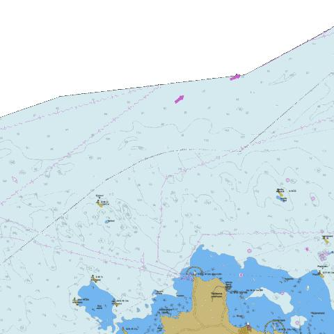 Northern part of Island Hiiumaa Marine Chart - Nautical Charts App