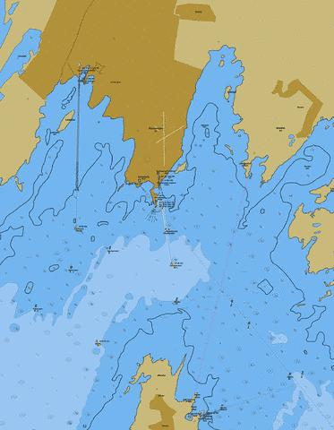 Roomassaare Harbour Marine Chart - Nautical Charts App