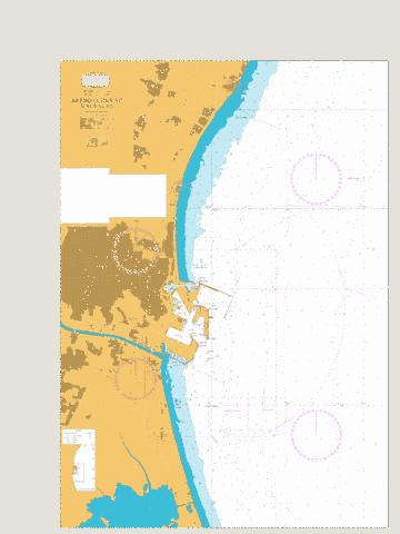 Approaches to Valencia Marine Chart - Nautical Charts App