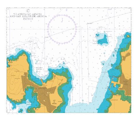 C  Vilanova de Arousa and San Xulian de Arousa Marine Chart - Nautical Charts App