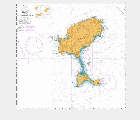 Ibiza and Formentera Marine Chart - Nautical Charts App