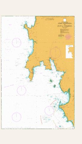 Cabo Torinana to Punta Carreiro Marine Chart - Nautical Charts App