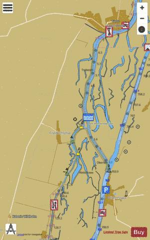 Havel-Oder Waterway : 1W5HO133 Marine Chart - Nautical Charts App