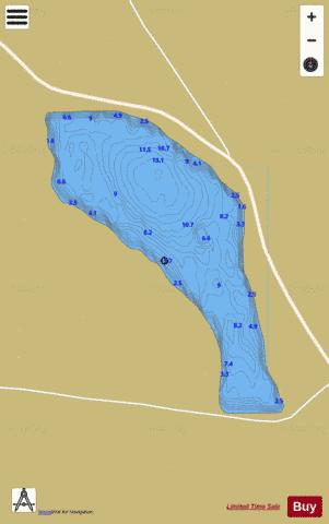 Corcaghan Lough Fishing Map - i-Boating App