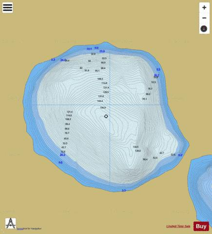Coomloughra ( Lough ) Fishing Map - i-Boating App