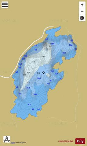 Acoose ( Lough ) Fishing Map - i-Boating App