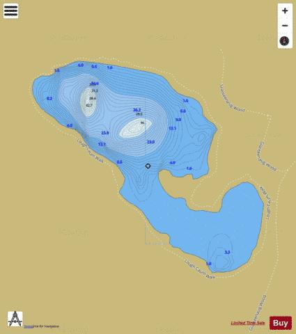 Cam ( Loch ) Fishing Map - i-Boating App