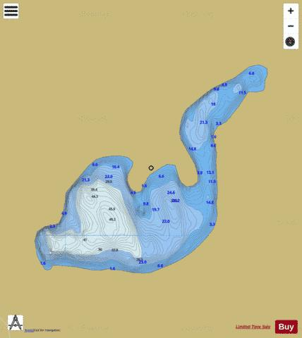 Castle Fishing Map - i-Boating App