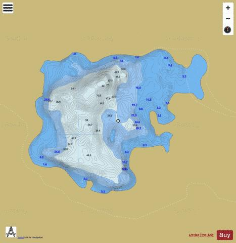 Coolin Lough Fishing Map - i-Boating App