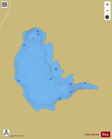 Natawneighter ( Lough ) Fishing Map - i-Boating App