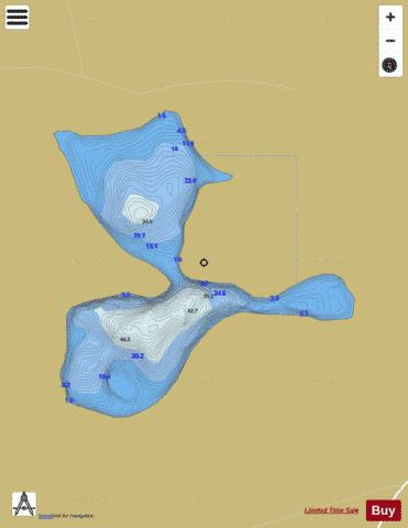 Bawn ( Lough ) Fishing Map - i-Boating App