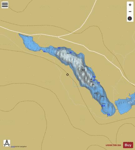 Nacung Upper ( Lough ) Fishing Map - i-Boating App