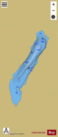 Inshagh ( Lough ) Fishing Map - i-Boating App