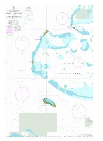 Egmont Islands to Three Brothers Marine Chart - Nautical Charts App