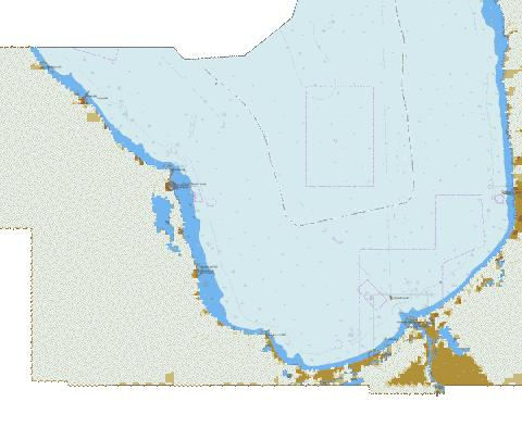 Gulf of Riga, Roja Port to Port of Riga Marine Chart - Nautical Charts App