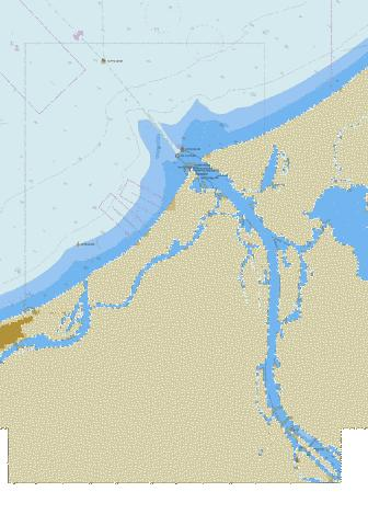 Approaches to Port of Riga Marine Chart - Nautical Charts App