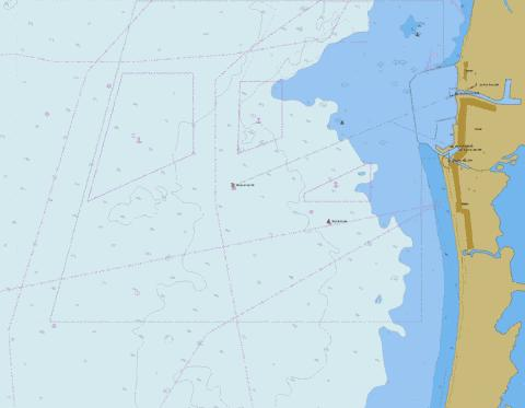Approaches to the Port of Liepaja Marine Chart - Nautical Charts App