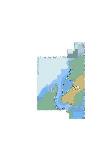 ENC CELL - Indian Ocean - Farquhar Group - Entrance to Inner Harbour Marine Chart - Nautical Charts App