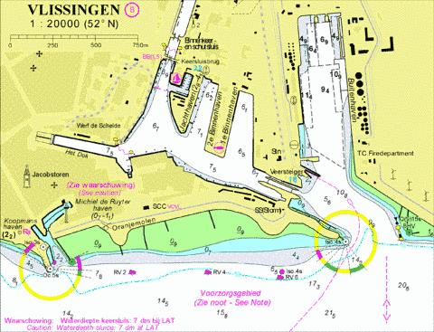 18014B - Vlissingen Marine Chart - Nautical Charts App