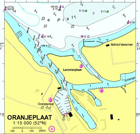 18052B - Oranjeplaat Marine Chart - Nautical Charts App