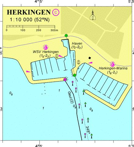 18059C - Herkingen Marine Chart - Nautical Charts App