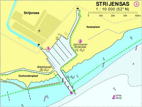 18079B - Strijensas Marine Chart - Nautical Charts App