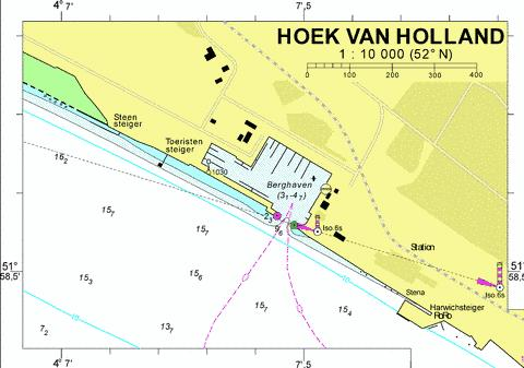 18093A - Hoek van Holland Marine Chart - Nautical Charts App