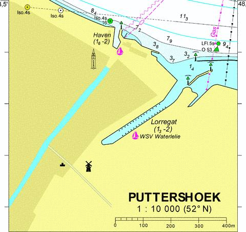 18098A - Puttershoek Marine Chart - Nautical Charts App
