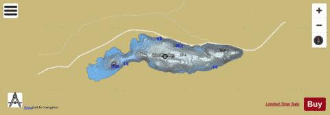 Vassfjorden Fishing Map - i-Boating App