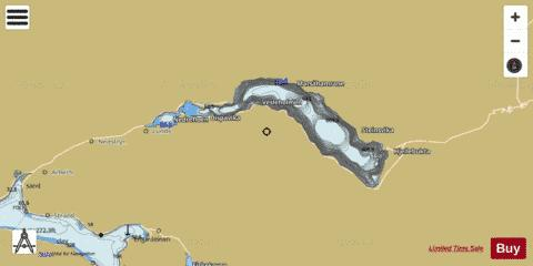 Strynevatnet Fishing Map - i-Boating App
