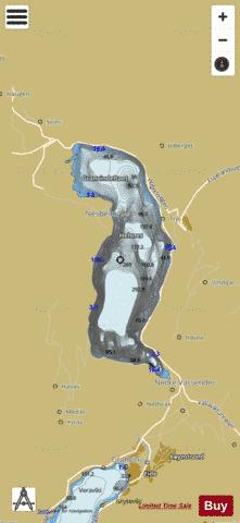 Granvinvatnet Fishing Map - i-Boating App