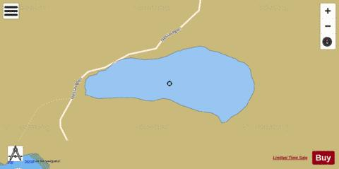 Nessavatnet Fishing Map - i-Boating App