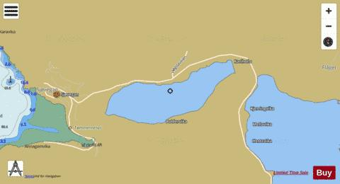 Nervatnet Fishing Map - i-Boating App