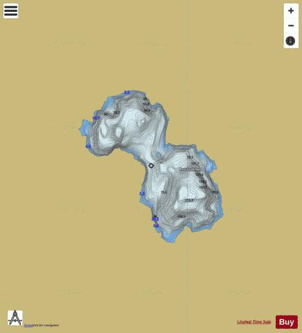 Revavatnet Fishing Map - i-Boating App