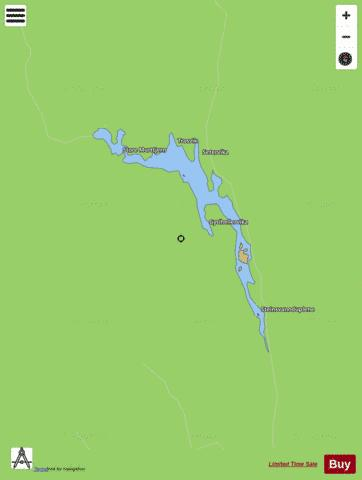 Steinsvatn Fishing Map - i-Boating App