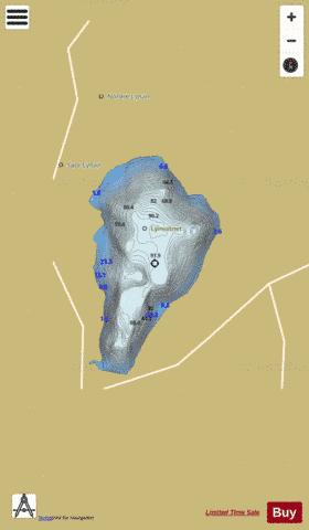 Lynvatnet Fishing Map - i-Boating App