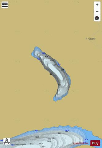 Bogvatnet Fishing Map - i-Boating App