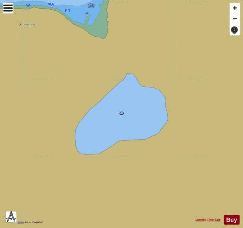 Litle Bunkevatn Fishing Map - i-Boating App