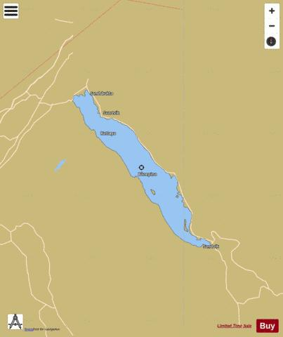 Eikeren Fishing Map - i-Boating App