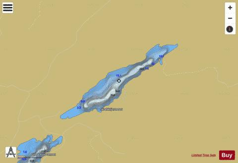 Store Lauarvatnet Fishing Map - i-Boating App